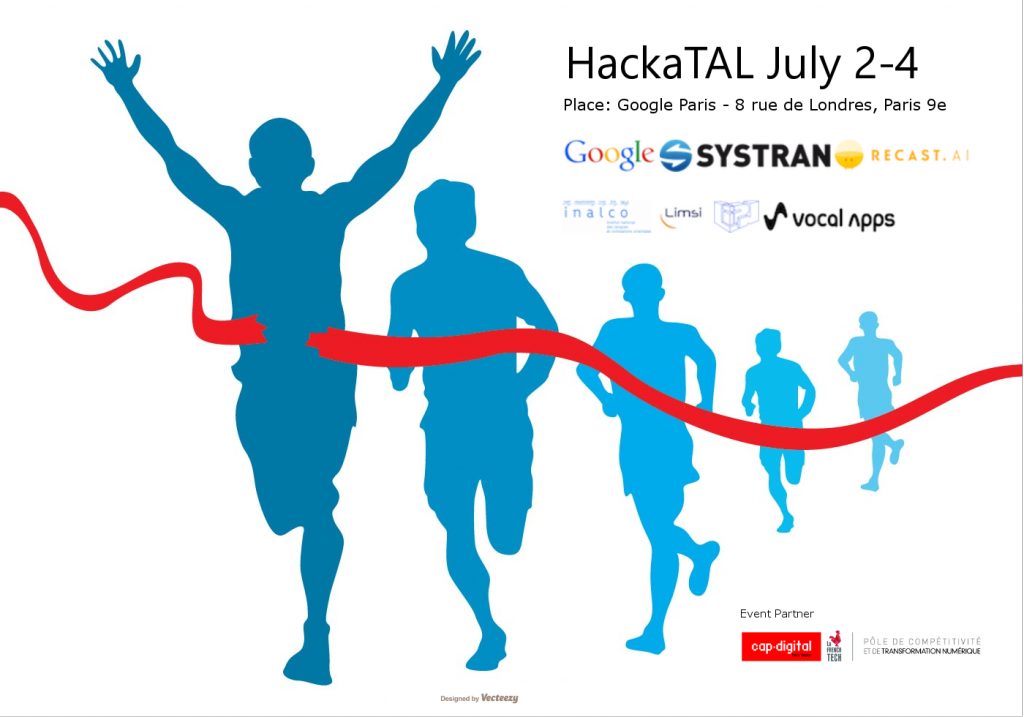 Hackatal July 2-4, Paris. SYSTRAN first Hackathon on Natural Language Processing)