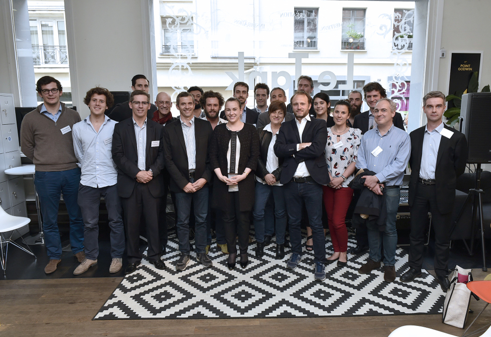Picture of Participants to the Digital Innovation Challenge. SYSTRAN is represent by his CEO & Global CTO Jean Senellart