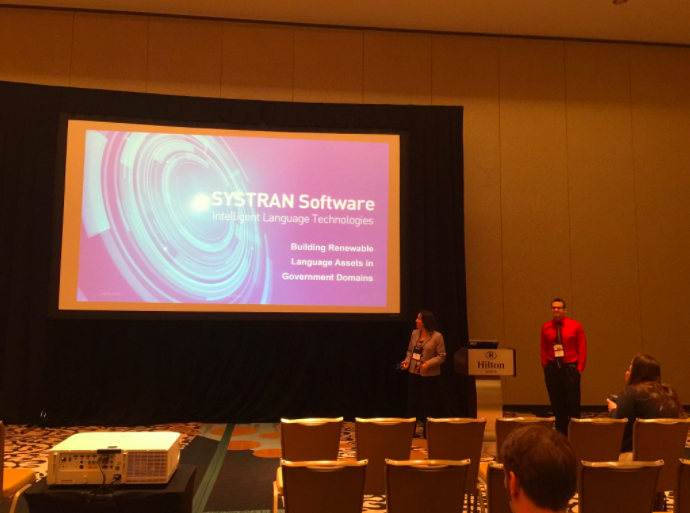 SYSTRAN presentation at Association for Machine Translation