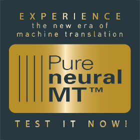 Pure Neural Machine Translation Demonstrator